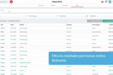 Clinni - Videotutoriales - 6.1. La caja